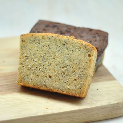 Picture of Orange Poppy Seed Pound Cake (Slice)