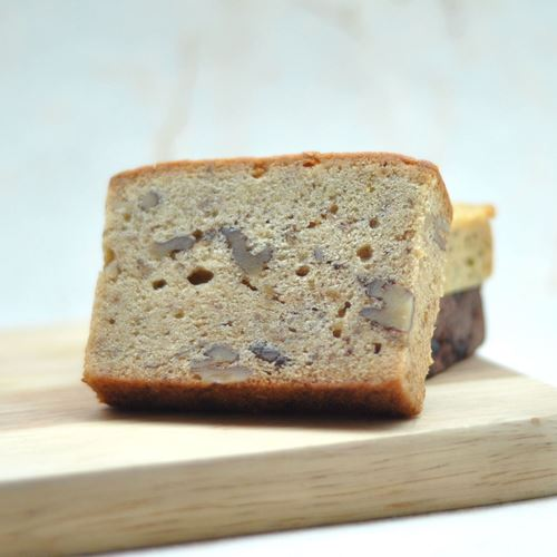 Picture of Banana Walnut Pound Cake (Slice)