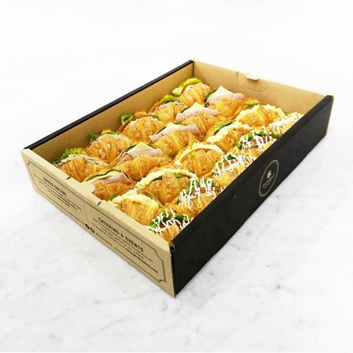 Picture of Mini Butter Croissant Sandwich Catering Box
