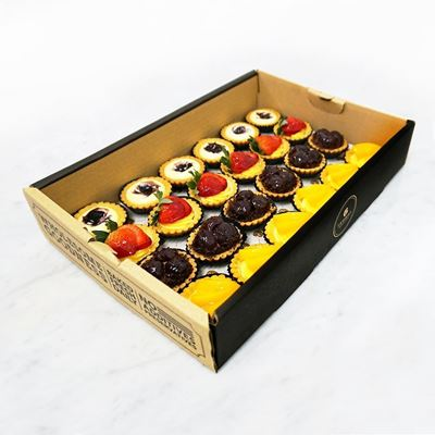 Picture of Mini Fruit Tartlets Catering Box