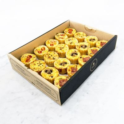 Picture of Mini Quiches Catering Box