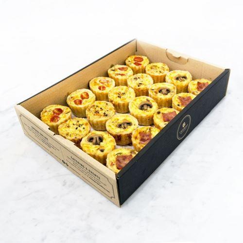 Picture of Mini Quiches Catering Box