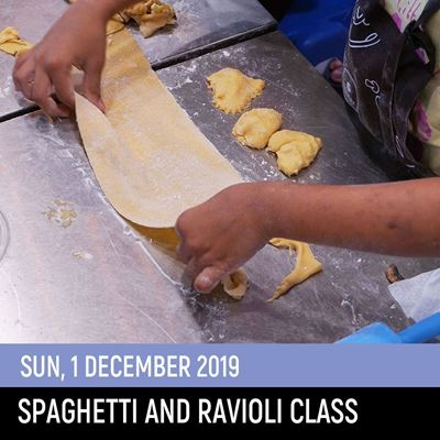 Picture of Spaghetti Ravioli Class (1Dec2019)