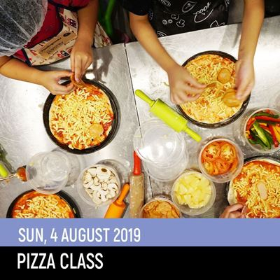 Picture of Pizza Class (4Aug2019)