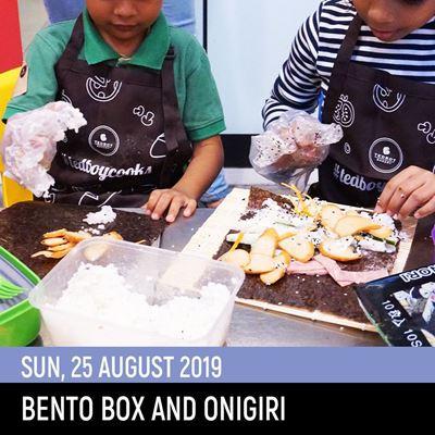 Picture of Bento & Onigiri Class (25Aug2019)