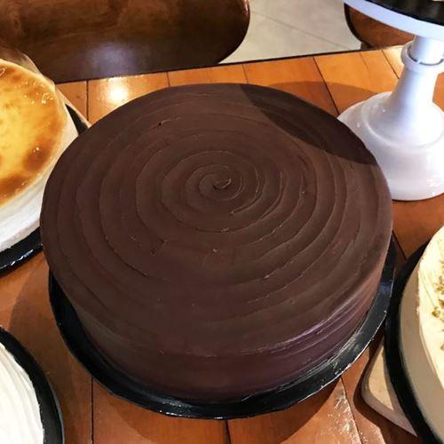"Picture of Dark Chocolate 9"" Round"