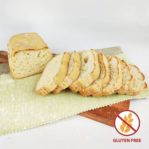Picture of Gluten-Free Bread Loaf Junior (3 loaves)