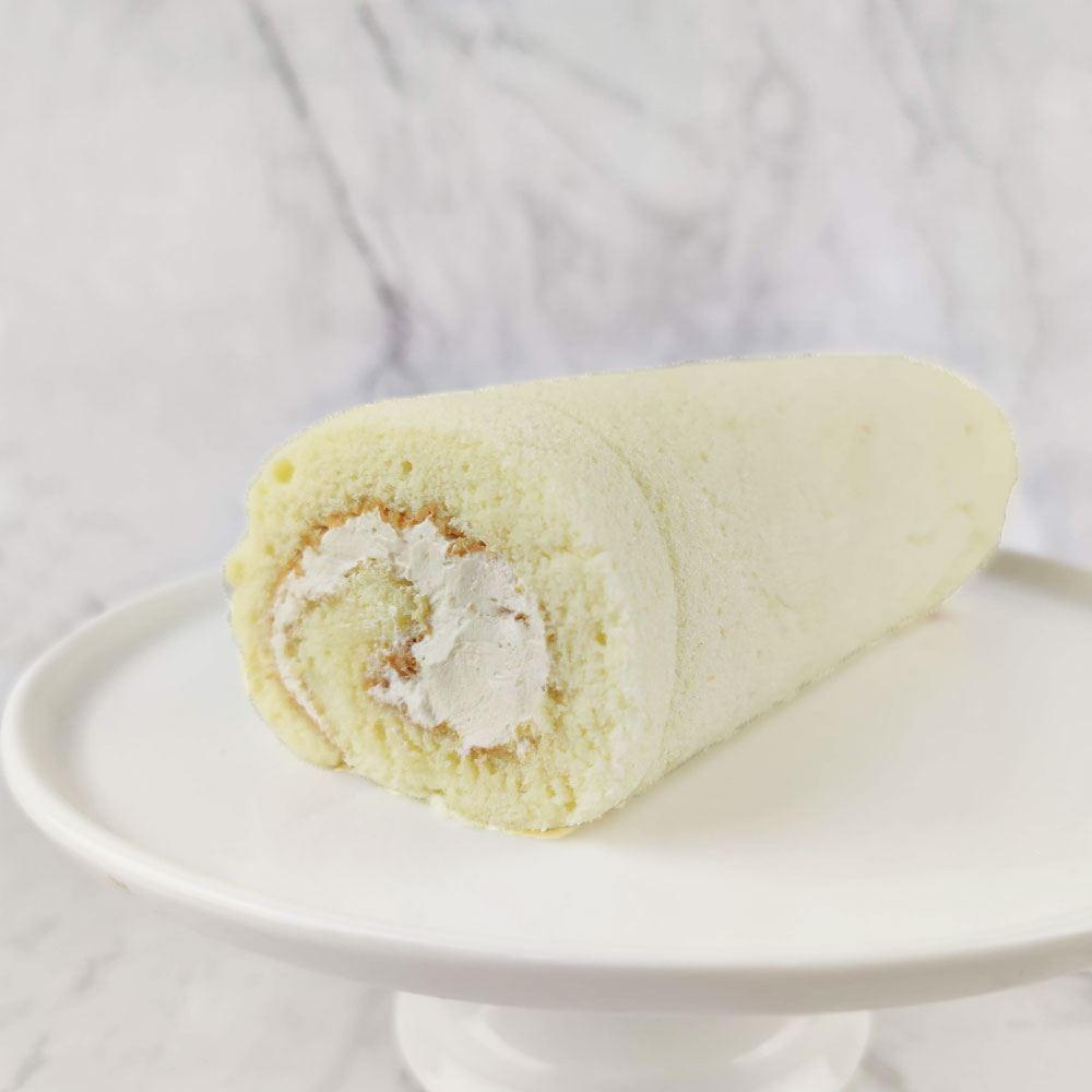 Vanilla Gula Melaka Swiss Roll