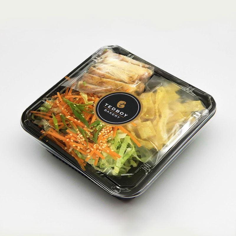 Cajun Chic Sesame Salad (Salad To-Go)