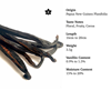 Picture of Vanilla Pods - 3 Pods (Trial Size)