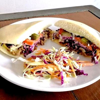 Picture of Oriental Pulled Duck Panini (Ala Carte)