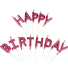 Picture of Red Alphabet Happy Birthday Candle