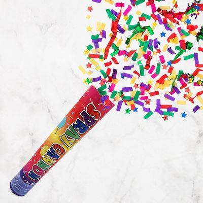 Picture of Party Popper Confetti Spray Cannon (1 piece)