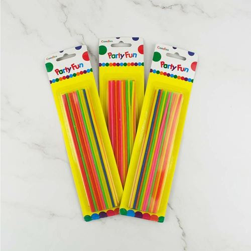 Picture of Party Thin Sparkle Candles (1 pack)
