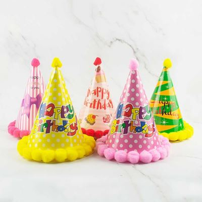 Picture of Party Kids Paper Hats (5pcs/pack)