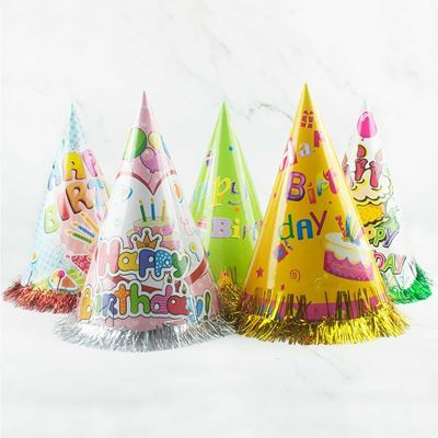 Picture of Party Adult Paper Hats (5pcs/pack)