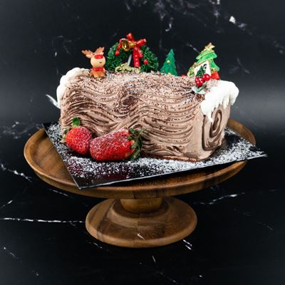 Picture of [XMAS2020] Chocolate Hazelnut Log Cake