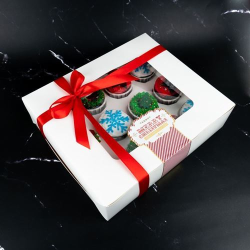 Picture of [XMAS2020] Jolly Merry Cupcakes (Box of 12/25pcs)