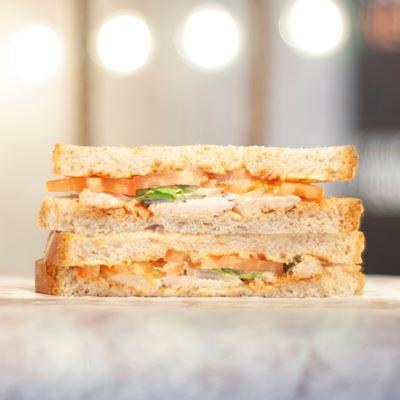 Picture of BBQ Chicken Sandwich (To-Go)