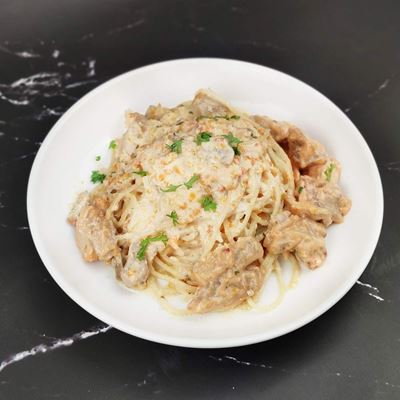 Picture of Creamy Cheese Chicken Pasta