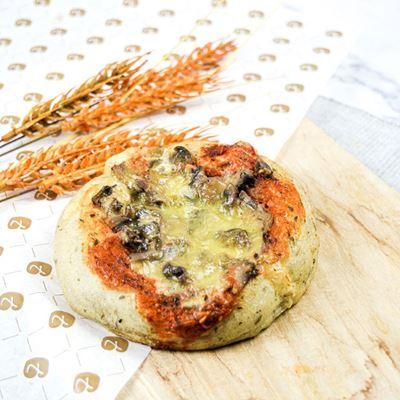 Picture of Tomato Mushroom Focaccia (V)