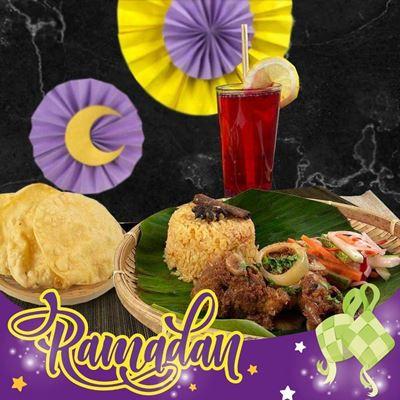 Picture of Ramadan Nasi Tomato Ayam Masak Merah Set