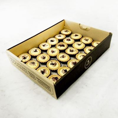 Picture of Mini Blueberry Cheese Tartlets Catering Box