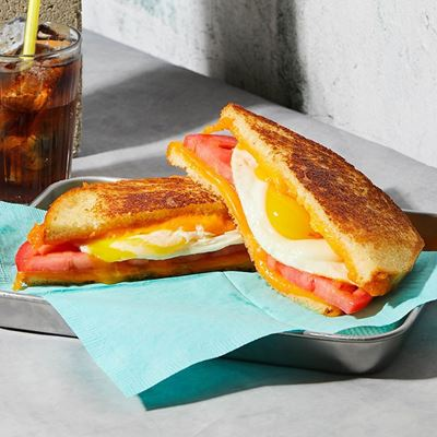 Picture of Breakfast Grilled Cheese Sandwich