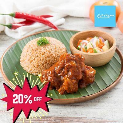 Picture of Nasi Tomato Basmati Ayam Merah by Tuk Tuk