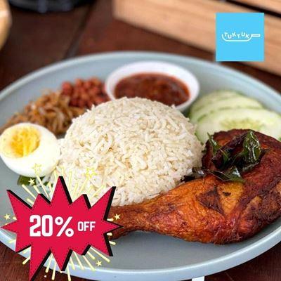 Picture of Nasi Lemak Basmati Ayam Rempah by Tuk Tuk