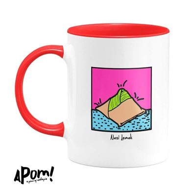 Picture of Mug - POP Culture Nasi Lemak by APOM