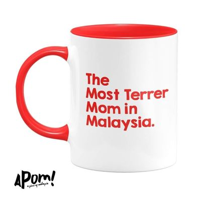 Picture of Mug - The Most Terrer Mom In Malaysia by APOM