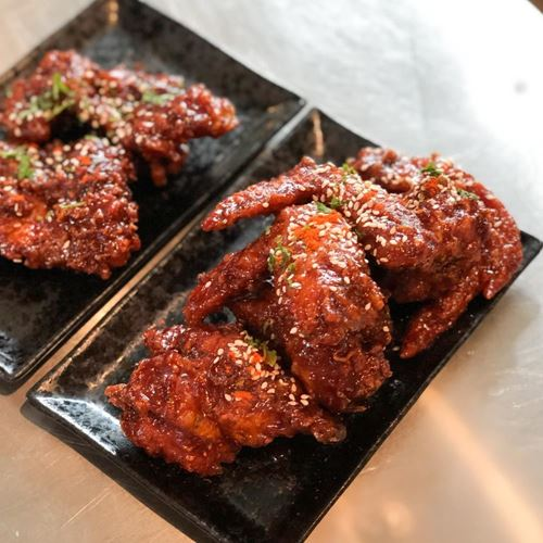 Picture of Korean Spicy Fried Chicken Wings (3s)