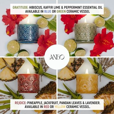 Picture of Bundle Scented Beeswax Candle by Anbo