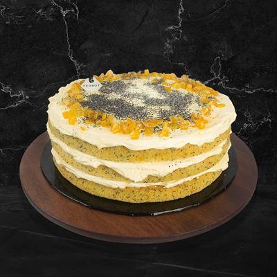 Picture of Orange Buttercream Cake (Whole)