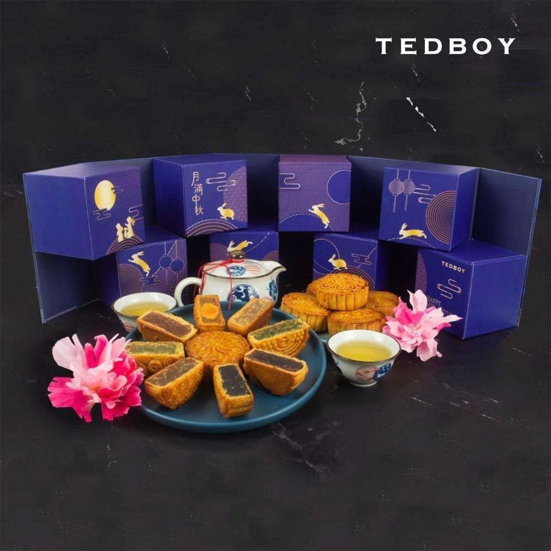 Tedboy Moonlight Gift Set (Mooncake 8pcs)