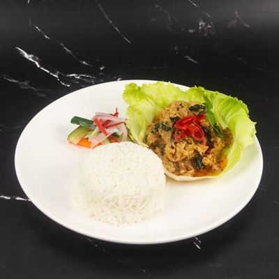 Picture of Thai Basil Stir-Fry with Rice (Veg)